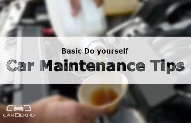 Basic Do yourself Car Maintenance Tips