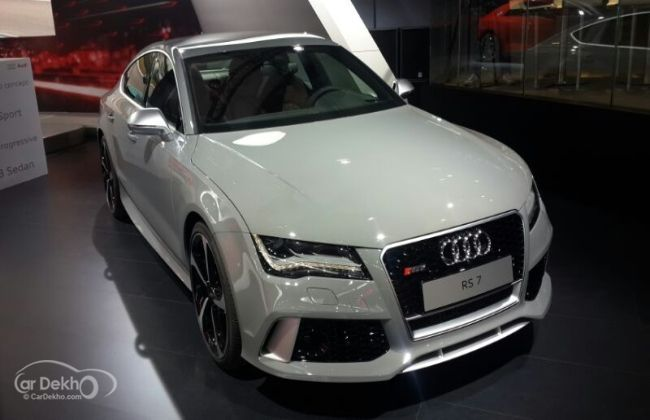 Audi Showcases RS Sportback At Indian Auto Expo - Audi car top model
