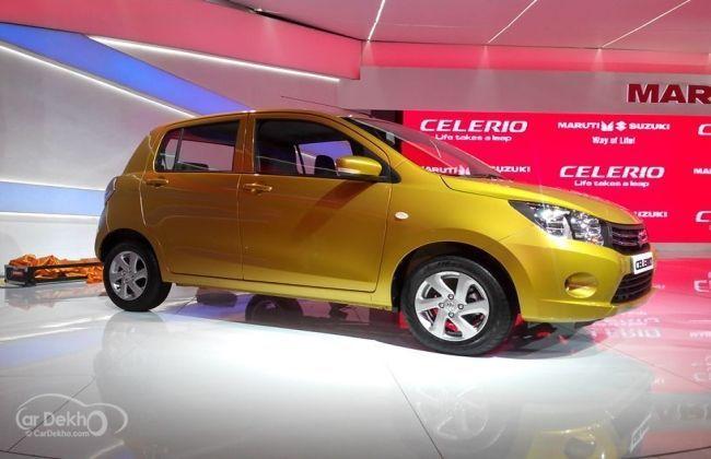 Maruti Suzuki Celerio - Exterior