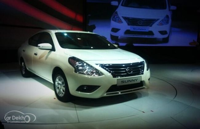 Nissan Sunny facelift launch in September