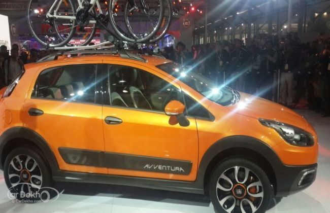 Fiat Avventura Unveiled At 2014 Auto Expo Business