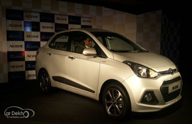 Hyundai launches the XCent at Rs 4.66 lakhs