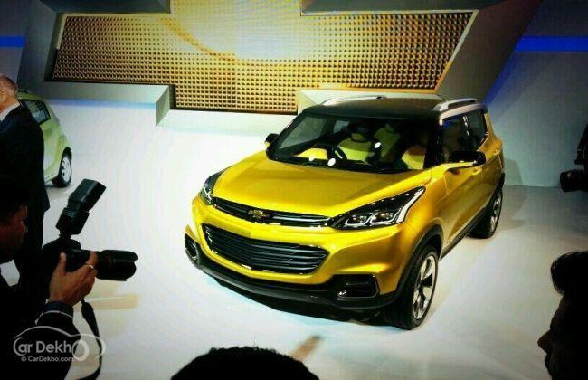 Chevrolet Adra unveiled at the Auto Expo | CarDekho.com