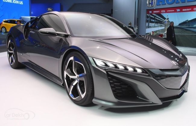 honda nsx concept unveiled at auto expo 2014 business