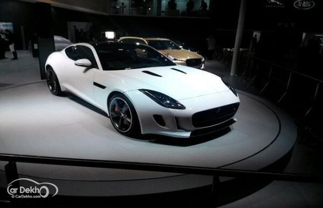 Jaguar F Type Coupe Launched In India Business Standard News