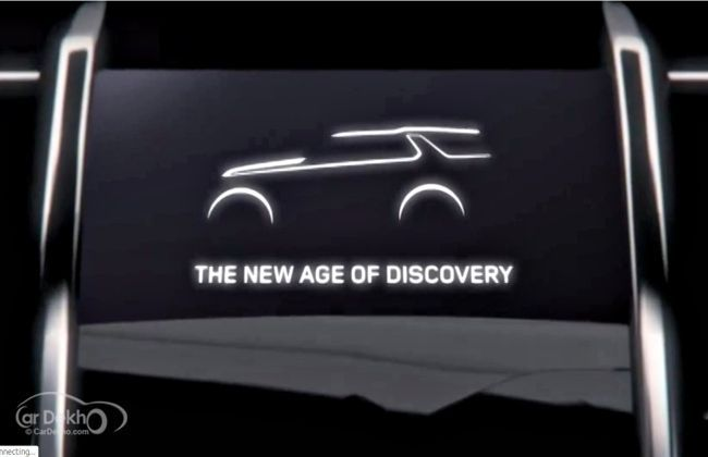 Land Rover teases its upcoming Discovery Vision Concept