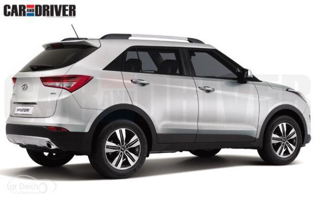 Hyundai ix25 - Rendered Image - Rear Profile
