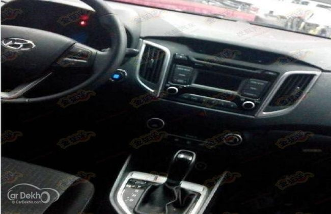 Hyundai ix25 - Interiors