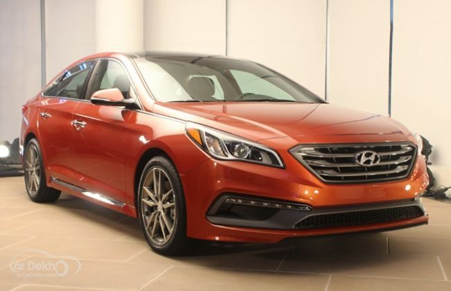 2015 Hyundai Sonata revealed at New York Auto Show