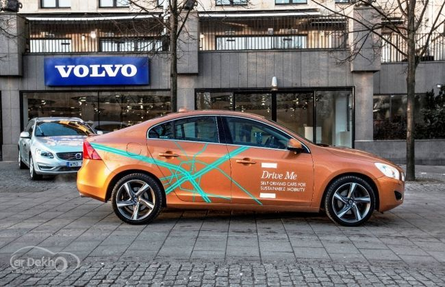 Volvo's first self-driving Autopilot cars tested on public roads in Sweden