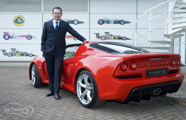 Jean-Marc Gales appointed as Lotus Cars CEO