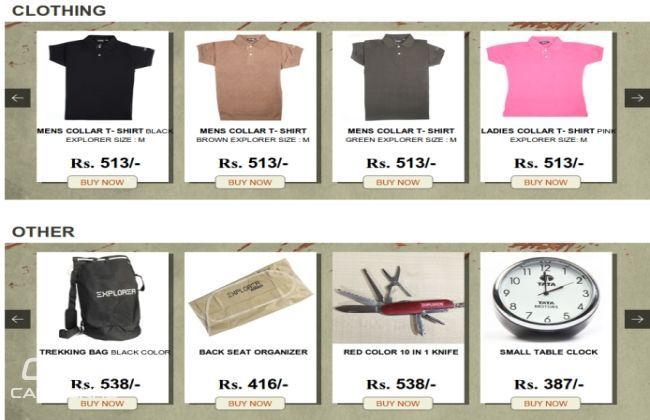 Tata Motors offers Safari Singham accessories
