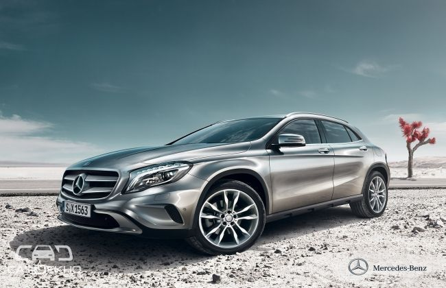 Mercedes benz india to launch gla class in festive season for Mercedes benz gla class india