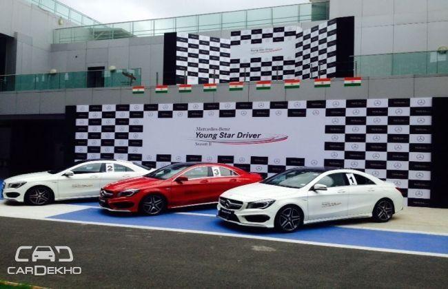 Raj Bharath wins Mercedes-Benz 'Young Star Driver Programme' Season II