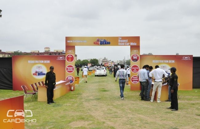 Biggest Used CarDekho Mela, DealDekho kicks in Jaipur