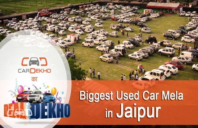 CarDekho successfully rounds up its Mega Used Car Mela in Jaipur