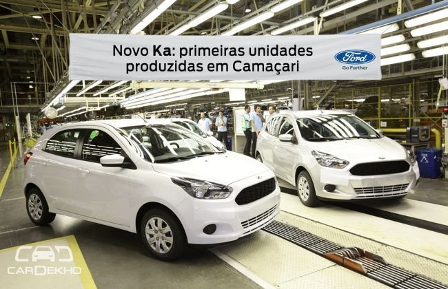 Ford starts production of the next-gen Figo/KA; India launch early next year!