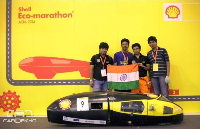 Delhi Technological University clears Phase I of Shell Eco-marathon Asia 2015