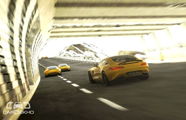 Mercedes-AMG GT exclusively in DriveClub on PlayStation 4 after premiere
