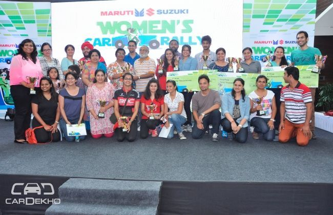 Maruti Suzuki organises women car rally in Delhi