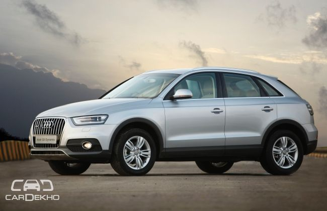 Audi Q3 top-end 'Dynamic' variant launched at INR 38.40 Lakh | Business Standard News
