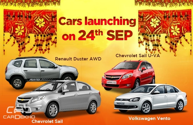 Cars Launching Tomorrow