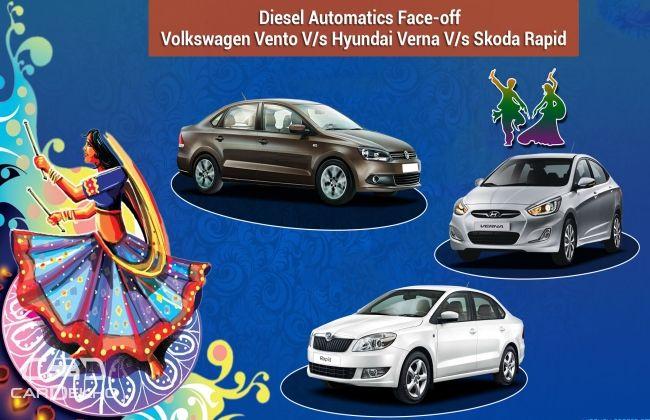 Volkswagen Vento V/s Hyundai Verna V/s Skoda Rapid