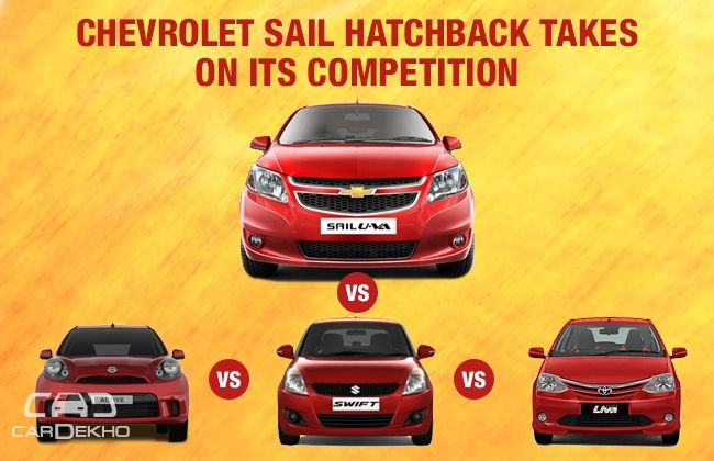 Competition Check: New Chevrolet Sail U-VA vs the Rivals