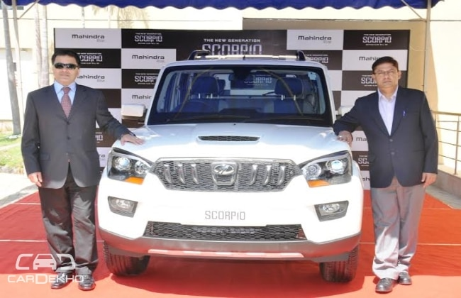 New Mahindra Scorpio launched in Chennai from Rs.8.43 Lakhs