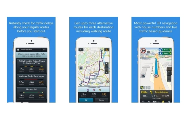 NaviMaps- Navigation app for IOS and Android users from MapMyIndia