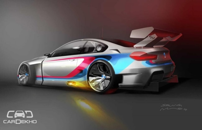 BMW teases M6 GT3 official renderings!