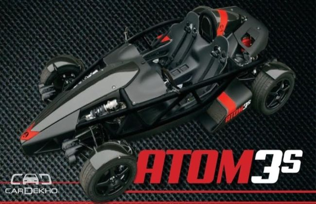 Ariel Atom 3S revealed; packs 365 bhp
