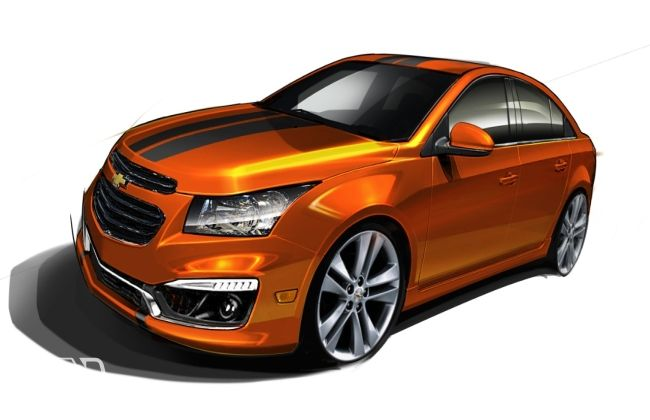 Chevrolet Cruze RS package