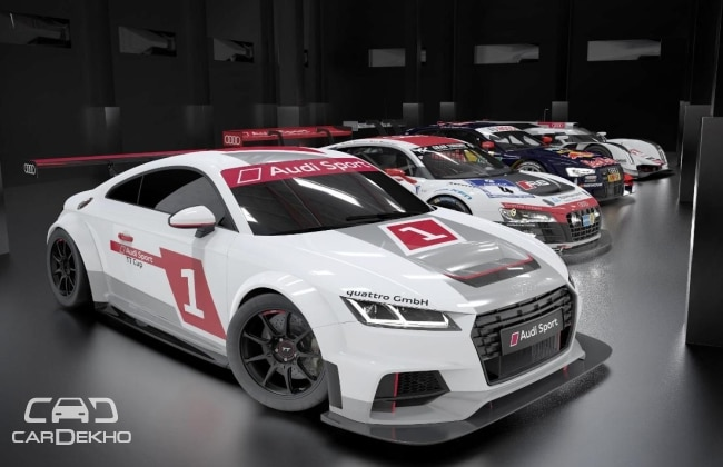 Audi to launch Audi Sport TT Cup from 2015
