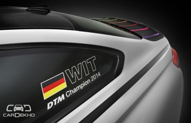 BMW celebrates DTM victory with M4 DTM Champion Edition