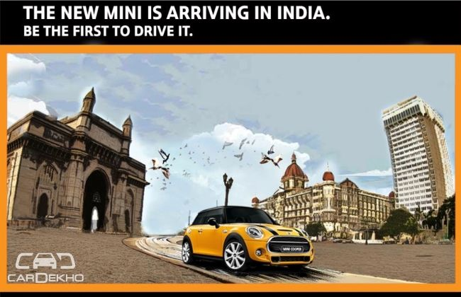 New MINI coming to India on November 19th