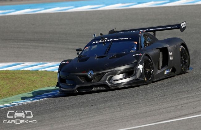 Renault Sport R.S. 01 hits the track for the first time