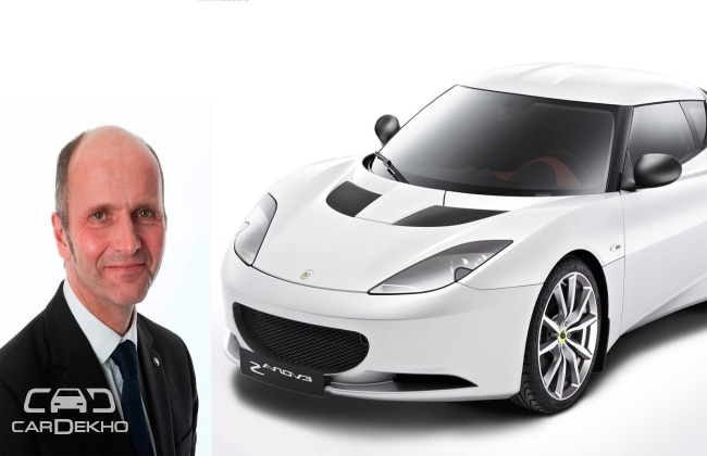 Lotus appoints Russell Carr as its new Design Chief