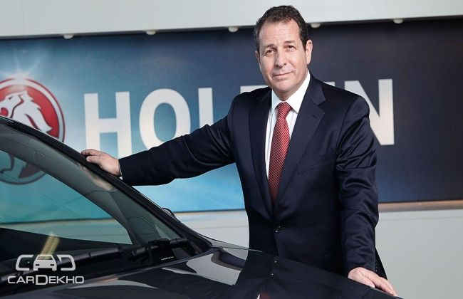 Another Holden boss quits!