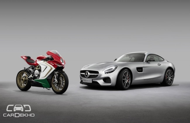 Mercedes-AMG acquires 25 percent of MV Agusta