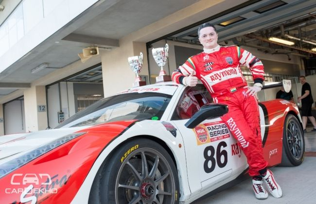 Gautam Singhania registers double victory in NGK Racing Series