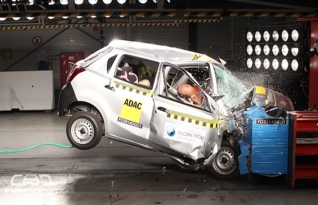 Datsun Go Crash Test