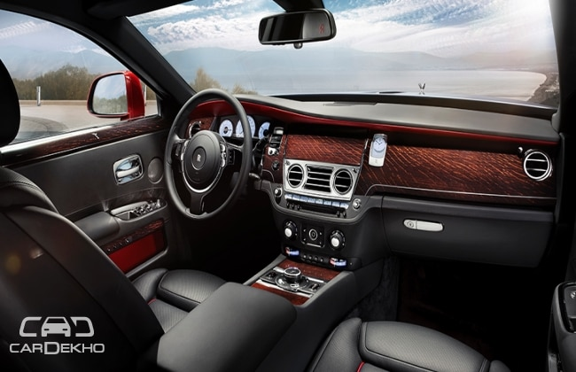 RR Ghost II Interior