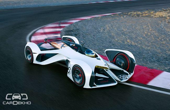 Chevrolet's futuristic Chaparral 2X Vision Gran Turismo concept