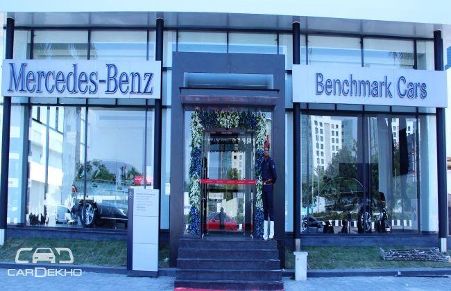 Mercedes benz opens new dealership in surat gujarat for Mercedes benz of cincinnati new dealership
