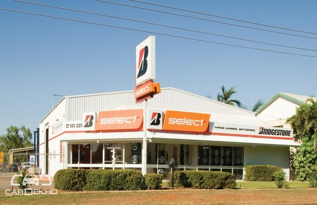 Bridgestone opens a new select store in Mumbai