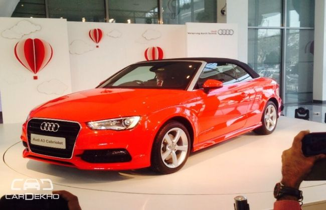 audi a3 cabriolet launched in india at inr 44.75 lacs | business