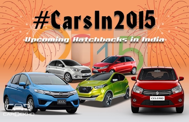 #CarsIn2015: Upcoming Hatchbacks In India