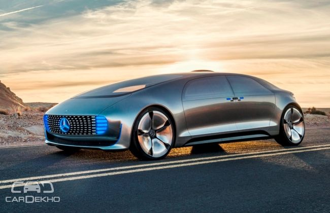 Mercedes Benz F105 Luxury In Motion Is A Self Driving
