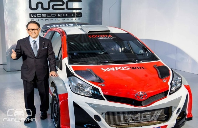 Toyota returns to World Rally Championship in 2017